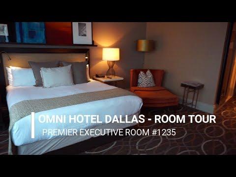 THE OMNI DALLASEXECUTIVE KING ROOM TOUR | ROOM 1235