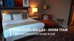 THE OMNI HOTEL DALLAS EXECUTIVE KING ROOM TOUR | ROOM 1235