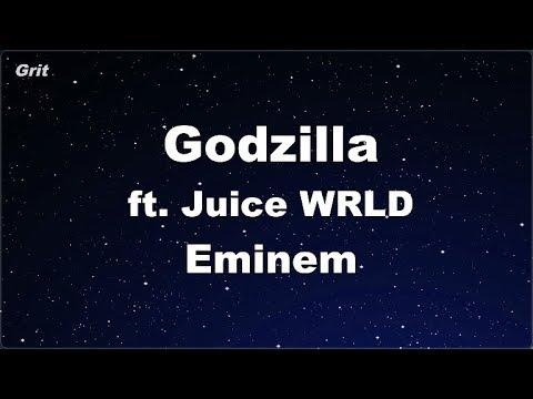 karaoke♬-godzilla-(ft.-juice-wrld)---eminem-【no-guide-melody】-instrumental