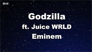 Karaoke♬ Godzilla (ft. Juice WRLD)  - Eminem 【No Guide Melody】 Instrumental
