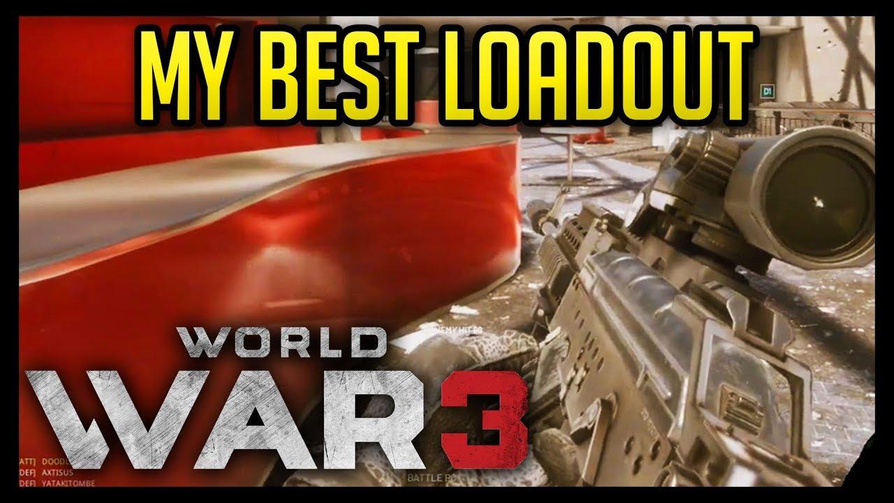 My Best Loadout in World War 3! - 50+ Kill Game