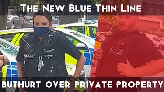 MACCLESFIELD POLICE STATION AUDIT,  BUTT HURT OFFICERS DO WALK OF SHAME! NEW GANG LOGO