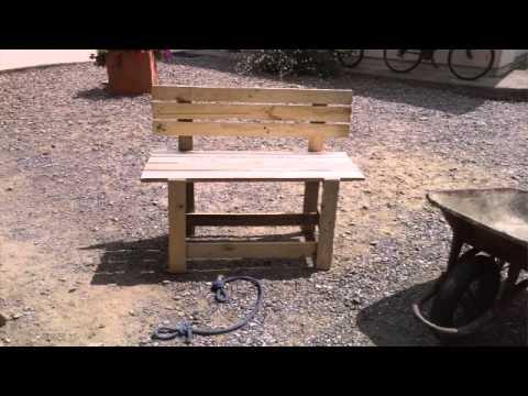 Toute mes construction en bois de palette youtube - Construction en bois de palette ...