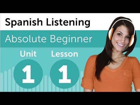 Luyện nghe tiếng Tây Ban Nha A1- Bài 1: Tại tiệm sách