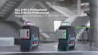 GLL 3-80 C/CG vonallézerek