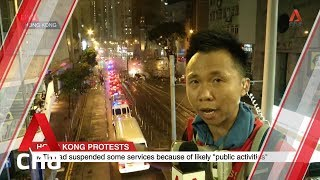 Fire near Hong Kong police HQ in Wan Chai extinguished