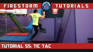 Parkour Tutorial 55: How to Tic Tac