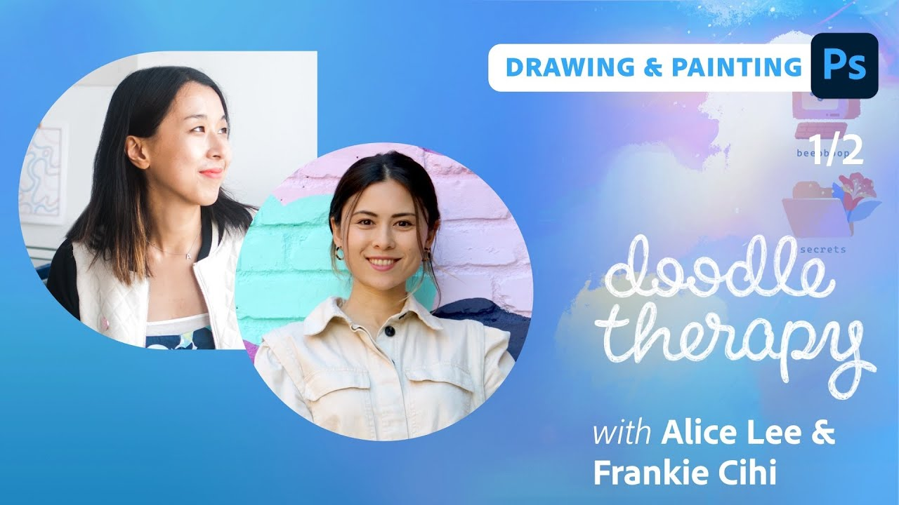 Doodle Therapy: Patterns with Frankie Cihi & Alice Lee  - 1 of 2