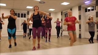 Herzbeben, Helene Fischer - ZUMBA FITNESS Choreografie von Doris Preuß