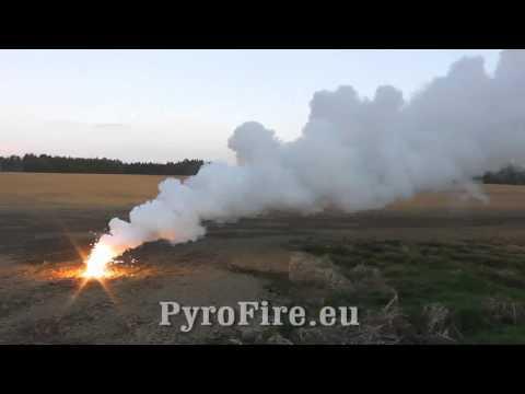 Magnesium Smoke Bomb By PyroFire.eu