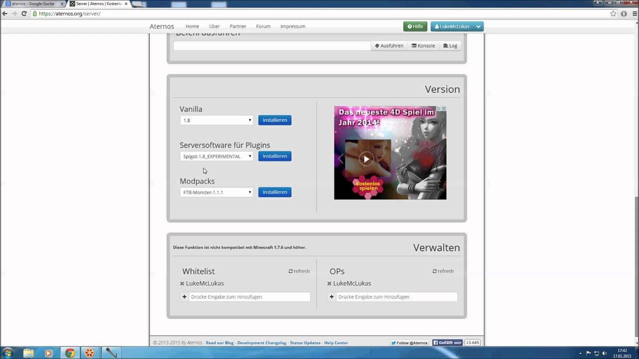 HD GRATIS Minecraft Server Erstellen So Einfach Gehts YouTube - Minecraft server erstellen gratis 1 8