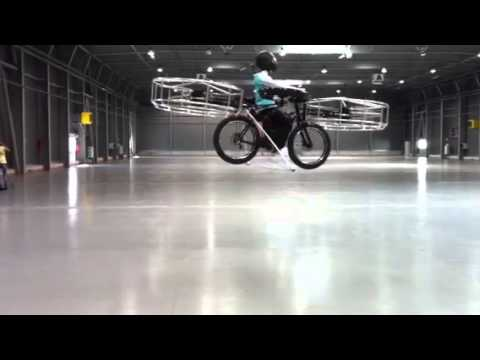 Watch This Insane Helicopter-Bike Fly Around