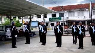 THE GUARD OF HONOR IN MALAYSIA 19TH PENANG COMPANY