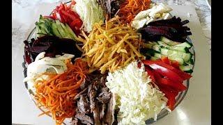 Cалат французский/Это Необычно Вкусно/Вкусный,овощной салат с майонезом/нежный рецепты салатов