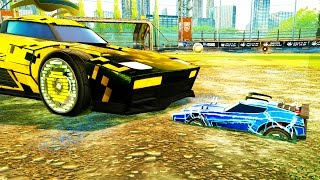 SMALL CAR BATTLE | MODDED ROCKET LEAGUE