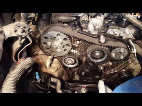 VW Passat B6 2.0 TDI Timing Belt replacement - Inlocuire curea distributie VW Passat B6 2.0 TDI