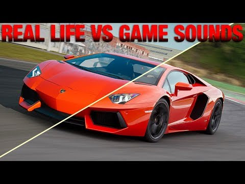 Forza Motorsport 7 - Real Life VS Game Car Sounds!