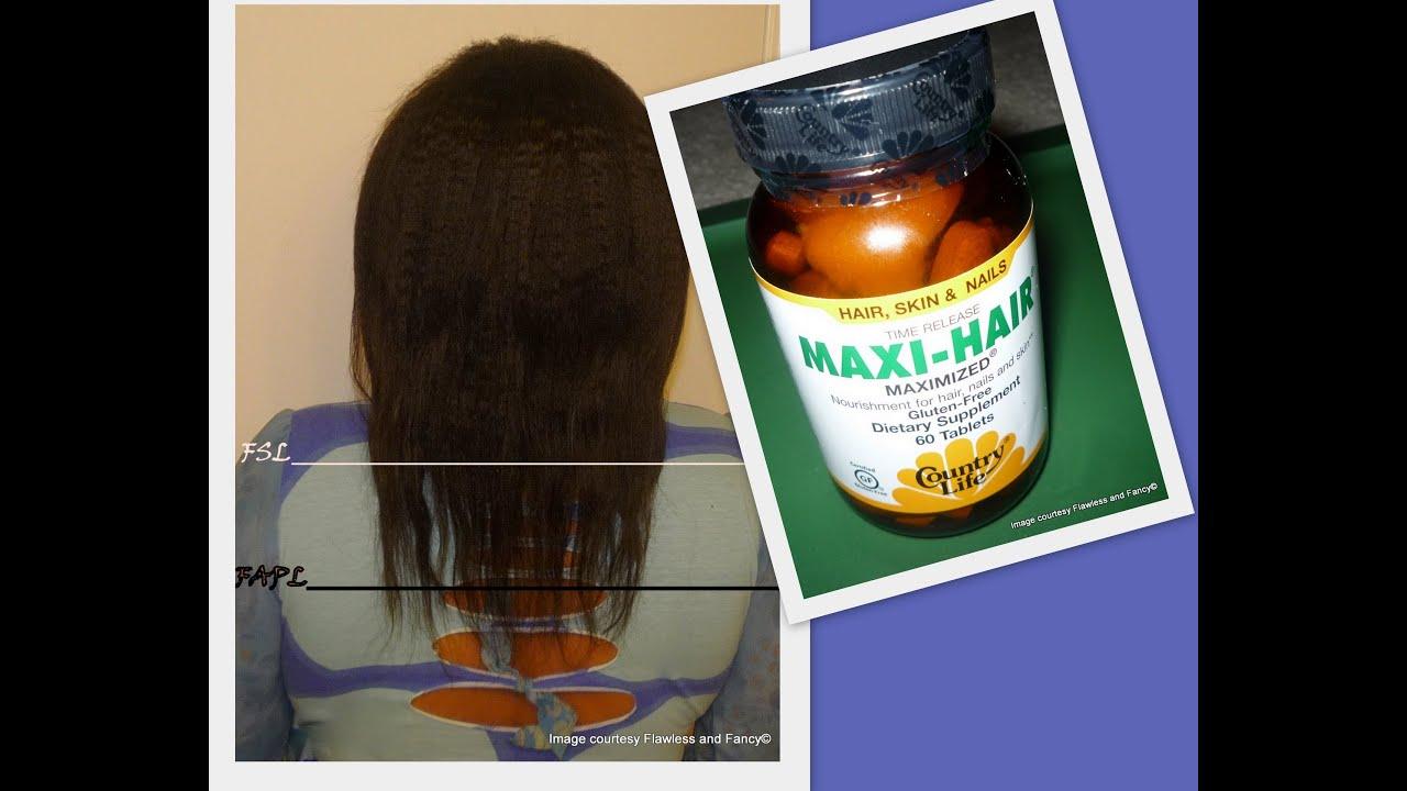 Maxi Hair Growth Challenge Update Month 2