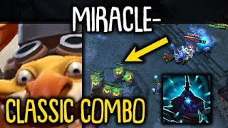Miracle- Techies CLASSIC COMBO Magnus RP + Remote Mines Dota 2