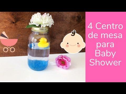 DIY  Centro de mesa para Baby shower 🤰🏼