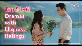 Top 5 tvN Dramas with Highest Ratings