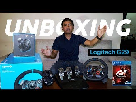 UNBOXING Logitech G29+Shifter