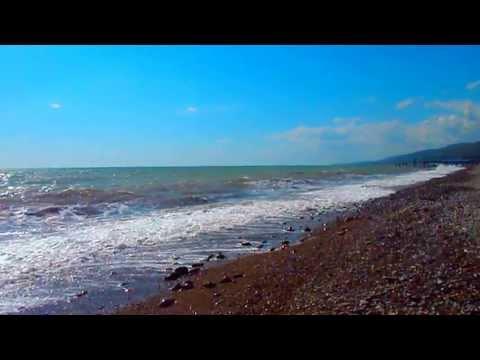Послушайте шум моря. Конец апреля 2013 в Лазаревском, Сочи