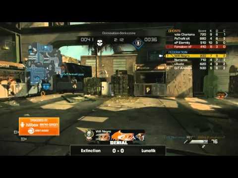 Finals Extinction vs Lunatik eSports: Game 1 -Strikezone Domination 1st side |