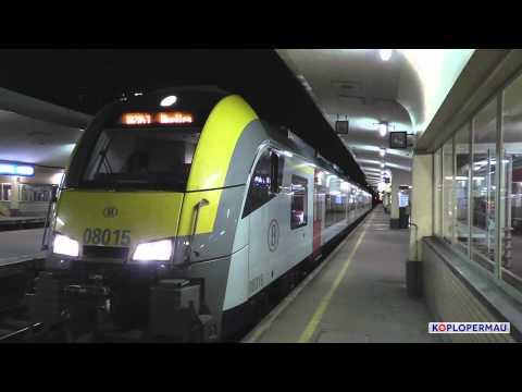 Siemens Desiro vertrekt en Klassiek Motorstel komt aan op station Brussel Noord!