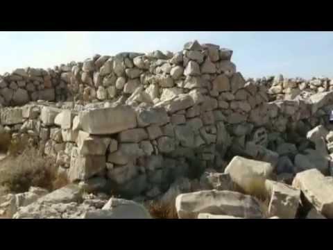 Joshua`s Altar   Mount Gerizim   Mount Ebal   Shomron   Israel