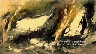 Paulo Couceiro - Prelúdio Serial Op.26 No.10 - Allegro Vivace