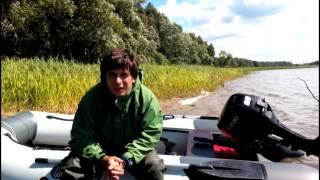Лодка касатка 335 под сузуки 9.9(Небольшой ролик про мою лодку(касатка 335) и мотор сузуки 9.9 Обзор проходил на Иваньковском водохранилище!, 2015-05-22T18:38:22.000Z)
