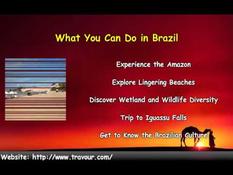 Travel to Brazil - The Tourist Guide