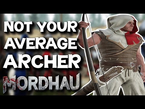 Carrying Frontline as an Archer - Mordhau Longbow Gameplay