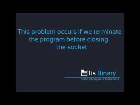 How to fix java.net.BindException:Address aleady in Socket Programming use in linux environment