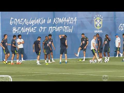 Fifa responde reclamações sobre árbitro de vídeo no jogo do Brasil  | SBT Brasil (18/03/18)