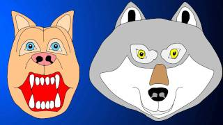 Dog and Wolf Singing Duet Animated Wild Pets Lip Sync Original Music Tune Song Full Lyrics Subtitles