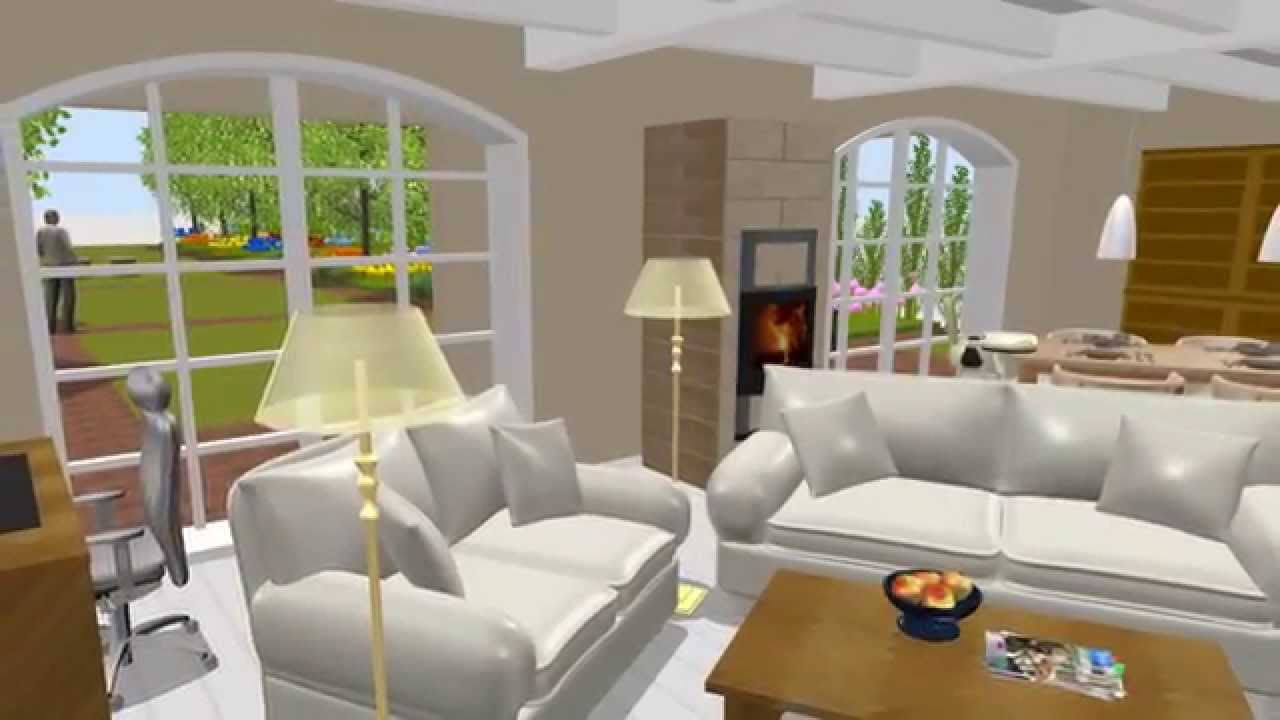 150822 stadthaus mit garten erstellt mit sweet home 3d youtube. Black Bedroom Furniture Sets. Home Design Ideas