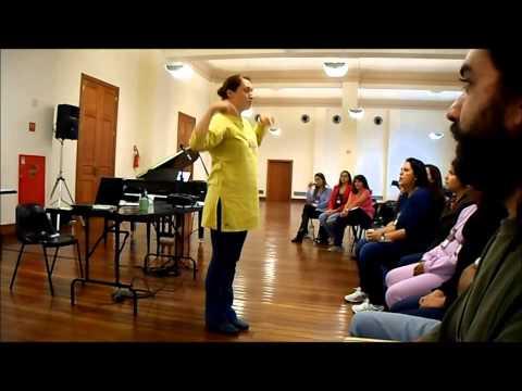 Dinâmica com 4 vozes - Curso Música Coral Para Professores