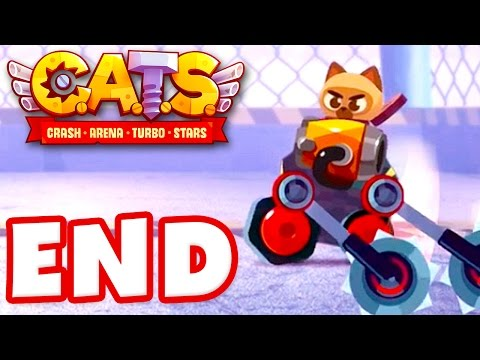 CATS: Crash Arena Turbo Stars - Gameplay Walkthrough Part 10 - Prestige! Gold League! (iOS)