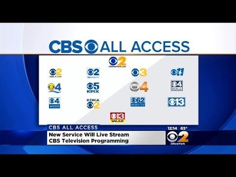 CBS Offers Digital Subscription Service 'CBS All Access' To Consumers