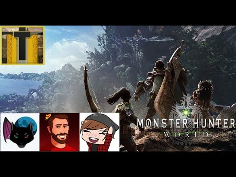 [1] Our first hunt as friends -Monster Hunter Worlds