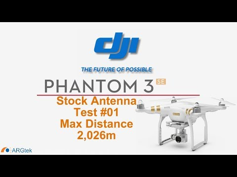 DJI Phantom 3 SE Range Test #01 By ARGtek Pilot