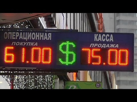 Rouble's plummet send Russians running to the shops to buy, buy, buy before prices rise
