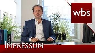 Achtung: Aufsichtsbehörde muss im Impressum stehen | Rechtsanwalt Christian Solmecke