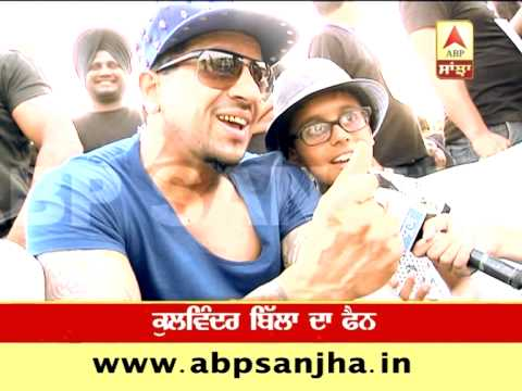 On Jazzy B's birthday, his son sings with him