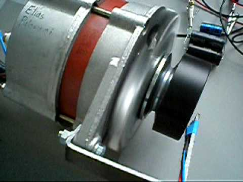 Bldc Motor From An Automotive Alternator