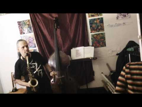 patrick brennan- Alto sax solo 1+2+3 Series #48  3/19/16
