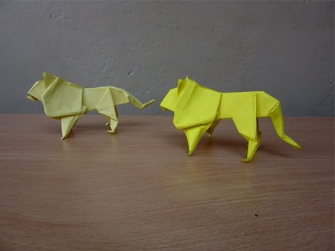 Origami - How to make an Origami Lion - YouTube | 360x480