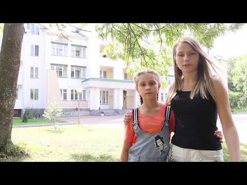 Иркутские школьники в Воронеже. Девочки. (фрагмент)